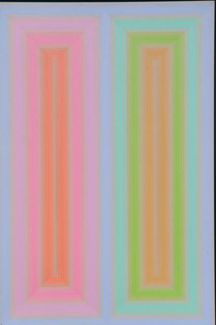 Richard Anuszkiewicz, 'Untitled', 1972, Walter Wickiser Gallery