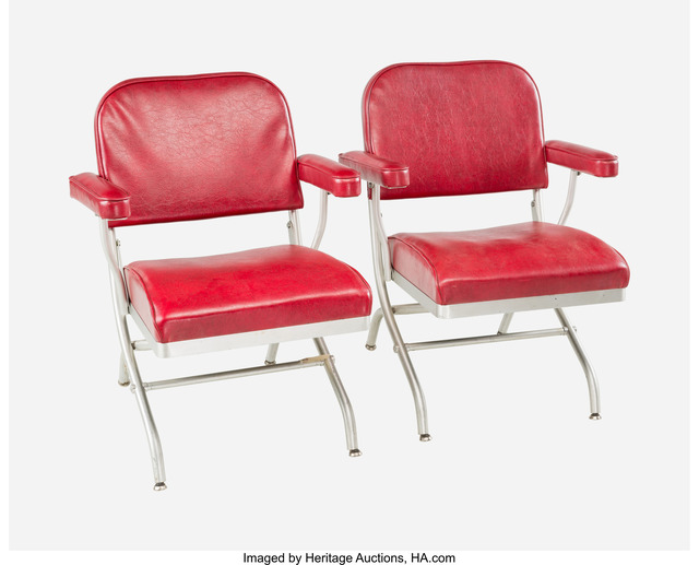 Warren McArthur, 'Pair of Folding Chairs', circa 1935, Heritage Auctions