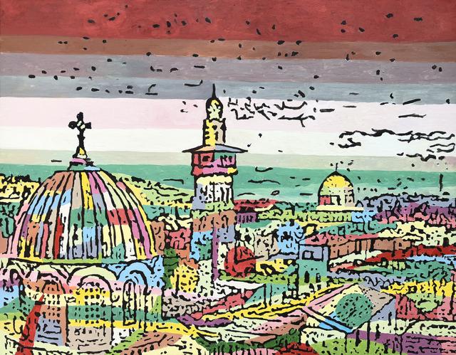 , 'City of Peace #2,' 2018, Zawyeh Gallery