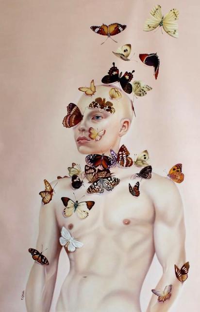 , 'Man of Butterflies ,' 2017, design art concepts