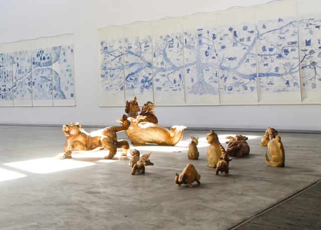 , 'The Plan of 100 Unicorns,' 2012-2013, Galleria Continua
