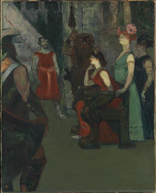 , 'Messalina,' 1900-1901, Princeton University Art Museum