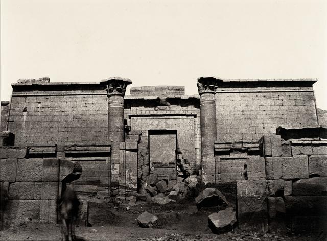 , 'V-25, Medinet-Abou, Grande Entree,' 1859-1860, Robert Klein Gallery