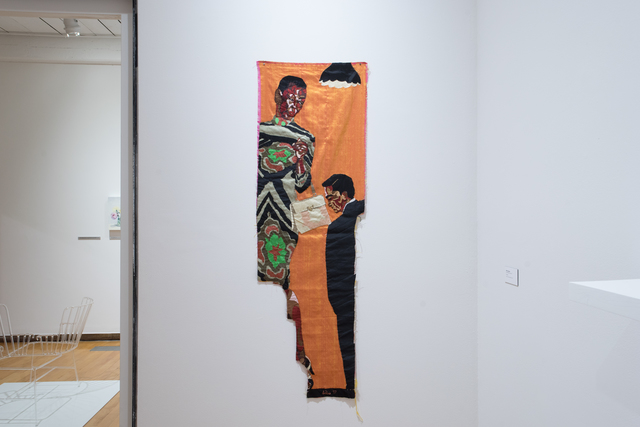 Billie Zangewa, 'In the Mood for Love', 2017, Textile Arts, Silk tapestry, MASS MoCA