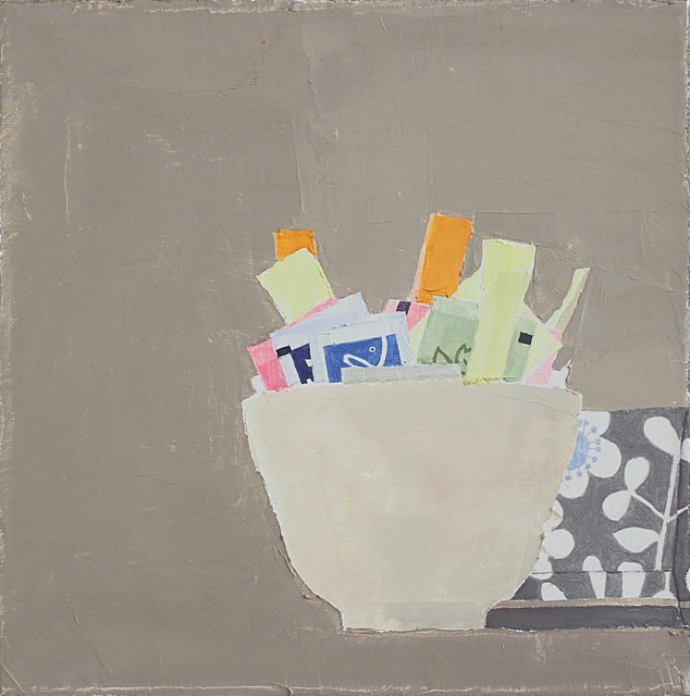 , 'Still Life with Sugar Packets,' 2015, Thomas Deans Fine Art