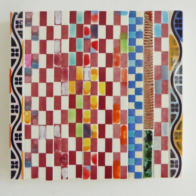 , 'Red/Blue Checker,' 2016-2018, Carter Burden Gallery