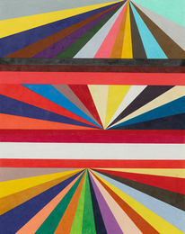 Mark Grotjahn, 'Untitled (Three-Tiered Perspective),' 1998, Sotheby's: Contemporary Art Day Auction