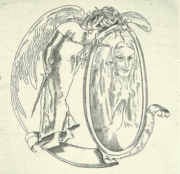 Federico Cantu, 'Speculum Justitiae [The Mirror of Justice]', 1946, Print, Etching, Childs Gallery