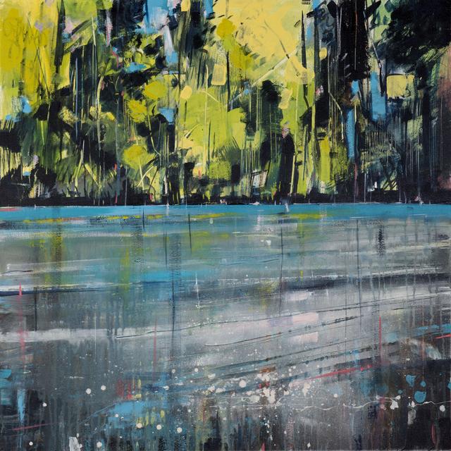 , 'Riverbank,' 2017, Thackeray Gallery