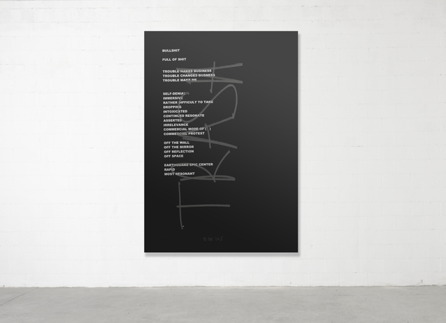 , 'Trash Painting #1,' 2017, Parra & Romero