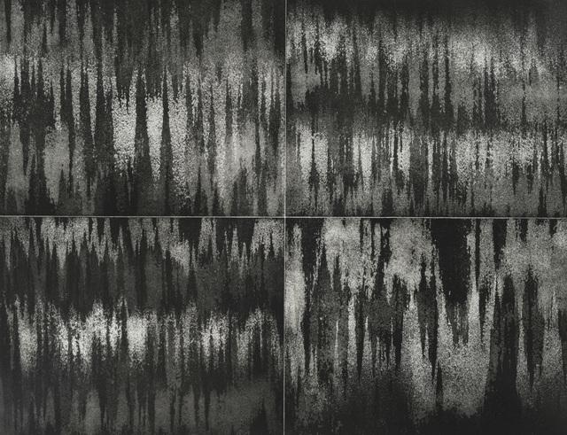 , 'Aux quatre vents : courant d'air (noir), #2,' 2017-2018, Galerie Antoine Ertaskiran