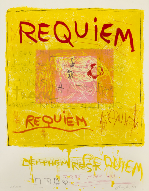 Joan Snyder, 'Requiem', 1998, Print, Etching and aquatint, Hindman