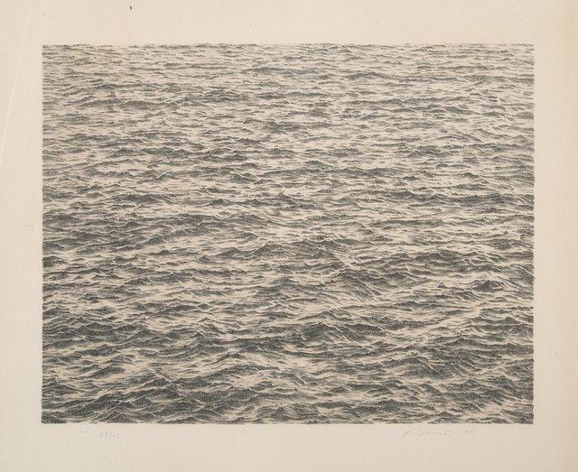 Vija Celmins, 'Ocean, from Untitled Portfolio', 1975, Heritage Auctions