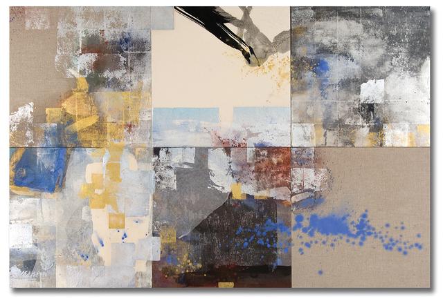 , 'Lapis Pond Minutia,' 2014, Bentley Gallery