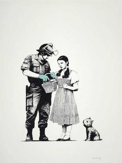 Banksy, 'Stop and Search', 2007, Tate Ward Auctions