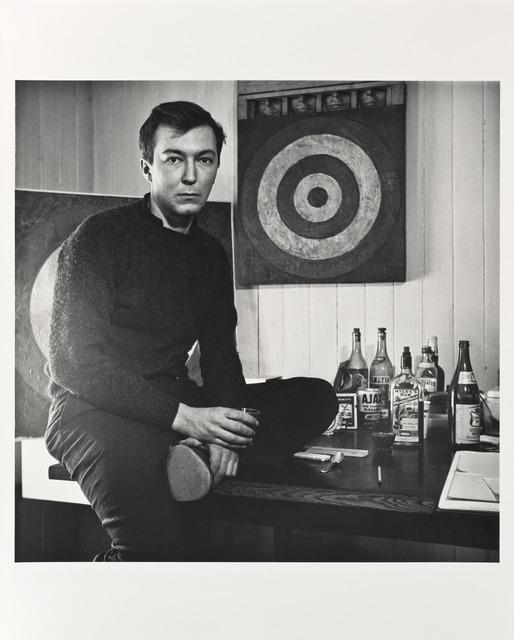 Robert Rauschenberg, 'Jasper—Studio N.Y.C.', 1958; printed 1981, Photography, Gelatin silver print, San Francisco Museum of Modern Art (SFMOMA)