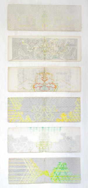 , 'Navigating Densities 1-6,' 2013, Annette De Keyser Gallery