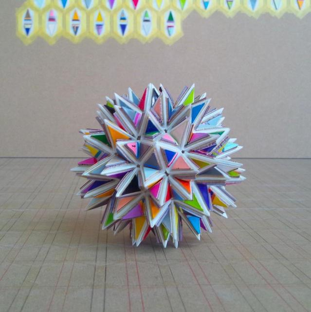 , 'stellation of snubdodecahedron,' 2014, KAYOKOYUKI