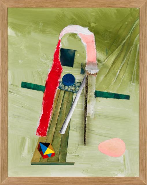 , 'L'oeuf d'après de Chirico ,' 2012, Anne Barrault