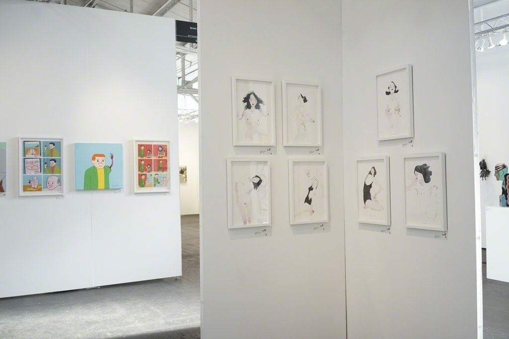 Spoke Art at Art Market San Francisco in 2016, featuring new and recent works by Chuck Sperry, Joan Cornella, GATS, Helice Wen, Conrad Roset and select works from our annual Moleskine Project.