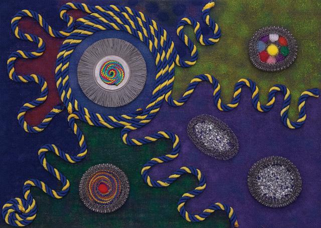 , 'Roads to Home,' 2016, Ashok Jain Gallery
