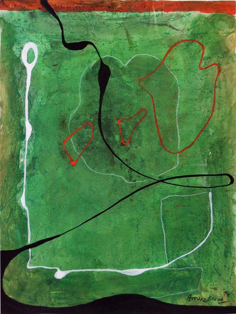 , 'Green-Green 7,' 2014, Matthew Liu Fine Arts