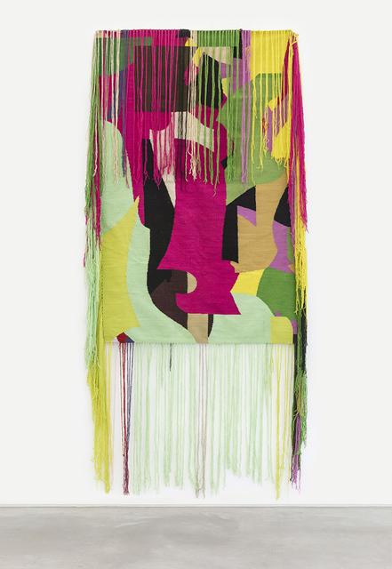 , 'Entre verdes, rosas e nuvem,' 2018, Casa Triângulo