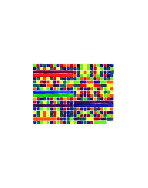 , 'Prelude in F Major (yellow-green), No. 11,' 2013, InLiquid