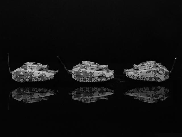 , 'Three Racer Tanks,' 2010, Gallery 270
