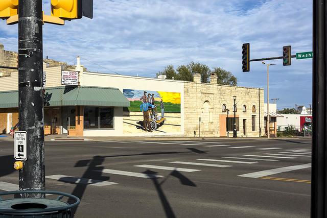 , 'Hand Cart Mural, Junction City, KS,' , Soho Photo Gallery