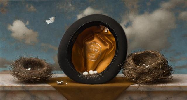 , 'Hat and Bird's Nests,' 2014, Cavalier Galleries
