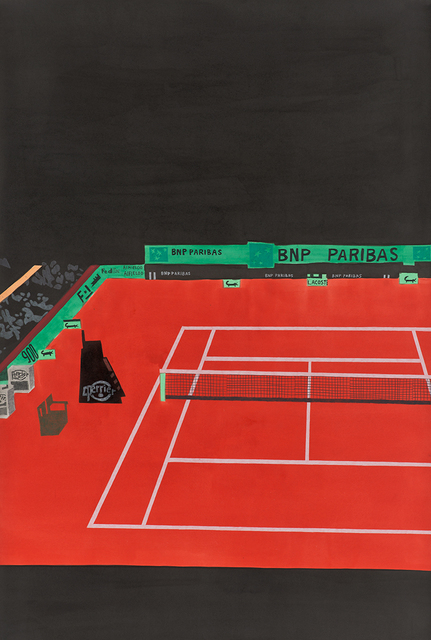, 'French Open 6,' 2013, David Kordansky Gallery