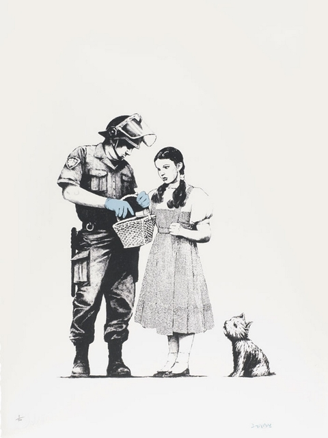 Banksy, 'Stop and Search', 2007, Rhodes