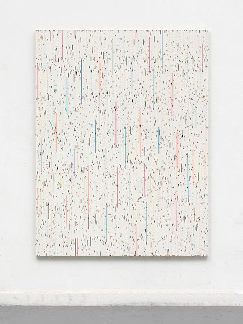 , 'Streifen der Stille (Benji – danke),' 2016, Perrotin