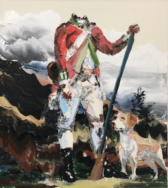 , 'Red Coat and Hound,' 2017, Nanda\Hobbs