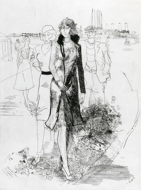, 'Sortie d'Usine No. 4,' 1931, Redfern Gallery Ltd.