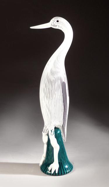 Fulvio Bianconi, 'Bird', 1954, Sculpture, Glass, Galerie Kovacek