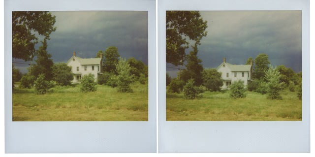 , 'Upstate Polaroids, Lone House,' 2011, Sean Kelly Gallery