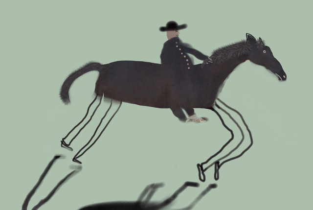 , 'Dark Rider,' 2015, Turner Carroll Gallery