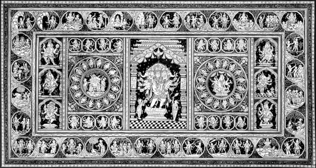 , 'Reverance - Pattachitra (Indian Folk & Tribal Art),' 2012, ICAC