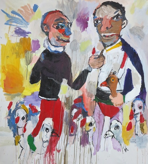 , 'CORRALITO,' 2017, Galerie Heike Strelow