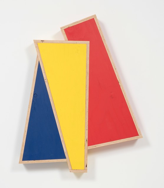 , 'Transitional Geometry in Red, Yellow and Blue (Figure 41),' 2018, Steve Turner