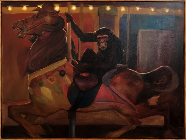 , 'Monkey on a carousel ,' 2018, StolenSpace Gallery