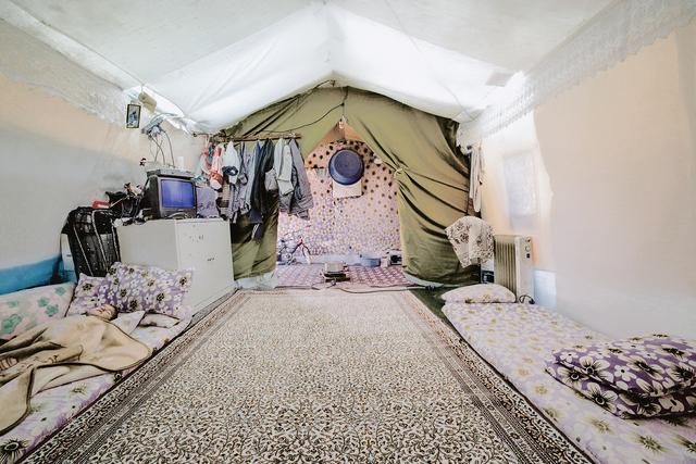 , 'Soliman's Tent 17,' 2014-2015, Hafez Gallery