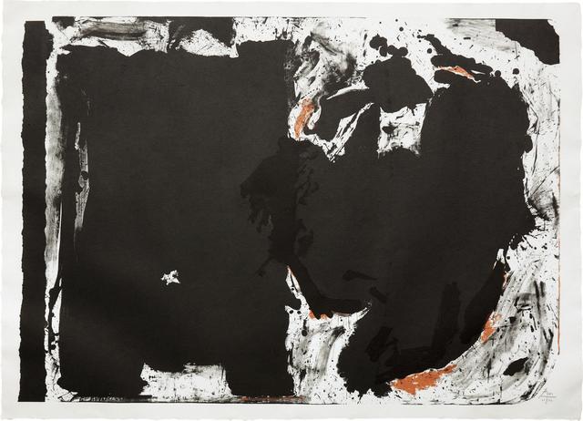 Robert Motherwell, 'Lament for Lorca', 1982, Phillips