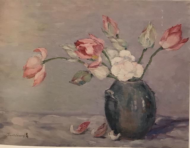 Junbi Fang (方君璧), 'Lotus 荷花', 1942, Asia University Museum of Modern Art