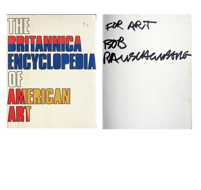 "Robert Rauschenberg, '""For ART"",1980, Signed with Satire Inscription', ca. 1980, VINCE fine arts/ephemera"
