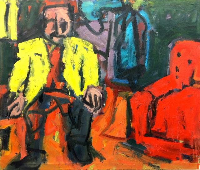 , 'Artist in the Studio,' 2016, Stuart & Co. Gallery