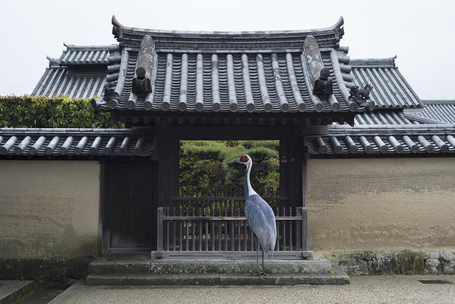, 'The Landing, Horyuji Temple, Nara,' 2015, Galerie Les filles du calvaire