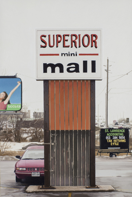 , 'Mini Mall,' 2015, Louis K. Meisel Gallery